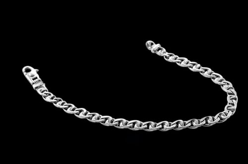 Platinum Wiley Link Chain