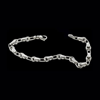 Platinum Multilink Fancy Chain
