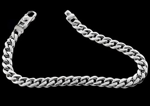 Platinum Traditional Curb Chain