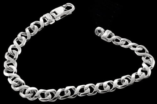 "Platinum Figure ""8"" Chain"