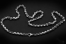 Slice Design Platinum Chain