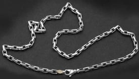 Stylish Platinum Chain