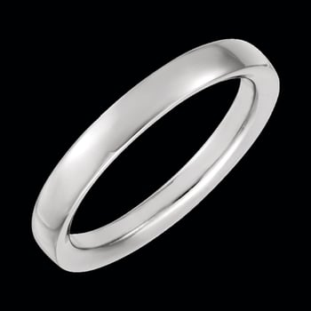 Platinum 4mm Designer Wedding Band