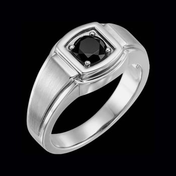 Captivating Men's Platinum Ring