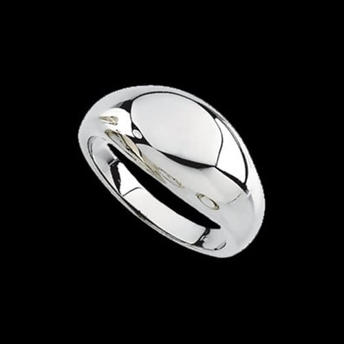 Platinum Dome Ring