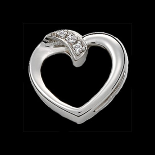Platinum Heart Slide