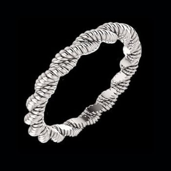 Platinum Twisted Rope Band