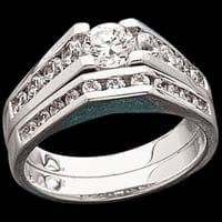 Diamond Bridge Design Ring