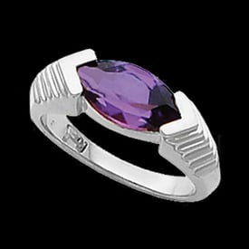 Platinum Marquise Fashion Ring