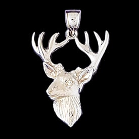 Platinum Big Buck Pendant