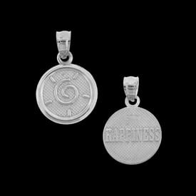 Platinum Happiness Charm Pendant