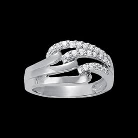 Platinum Chic Diamond Ring