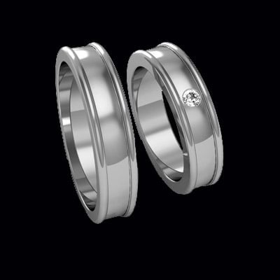 Splendid Platinum Wedding Bands